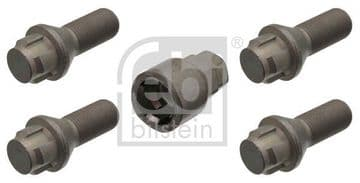 36136792851 Febi 47550 M14 Locking Wheel Bolt Kit 06-